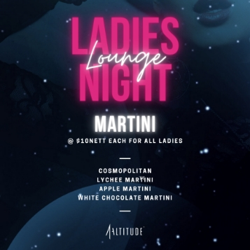 Ladies Lounge Night